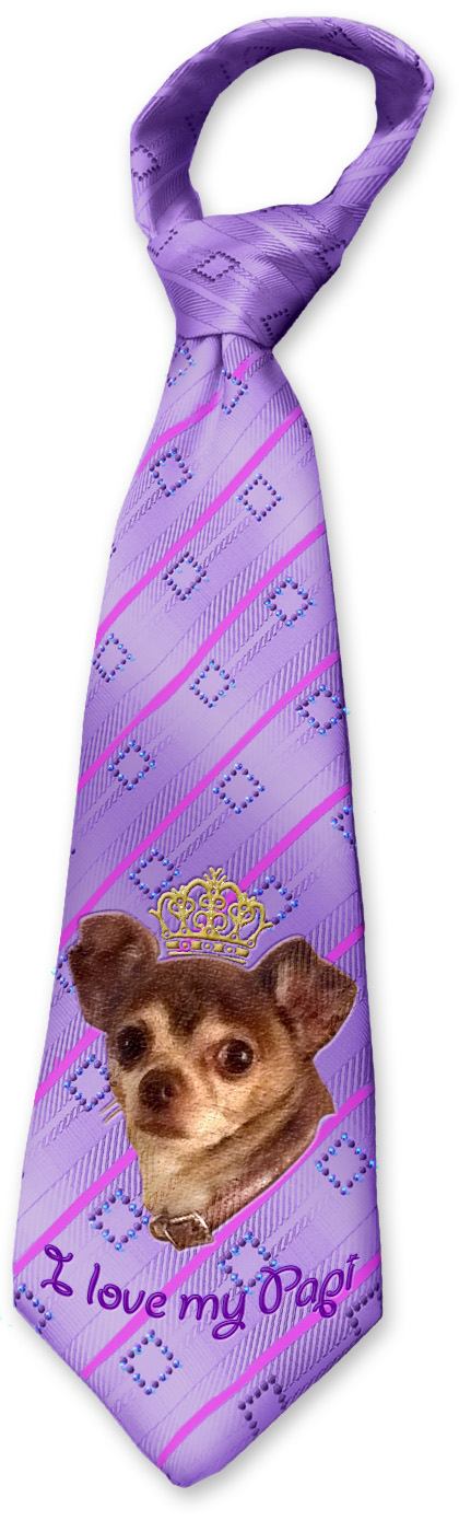 Father's Day tie for a chihuahua's daddy
